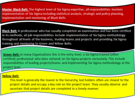 What Does The Colour Of The Six Sigma Belt Signify What Is Lean