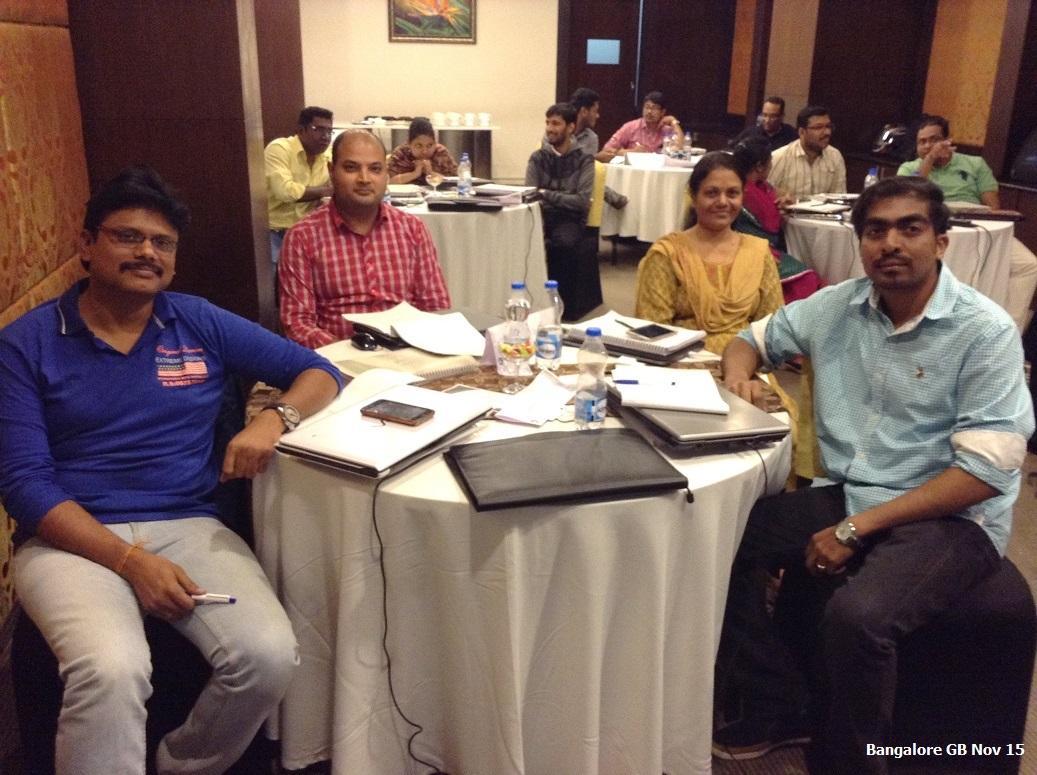 Bangalore GB Nov 15 - Team Contest 1st Runner Ups