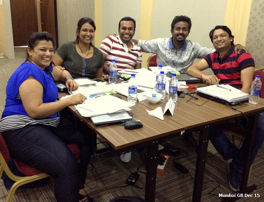 Mumbai GB Dec 15 -Team Contest Winners