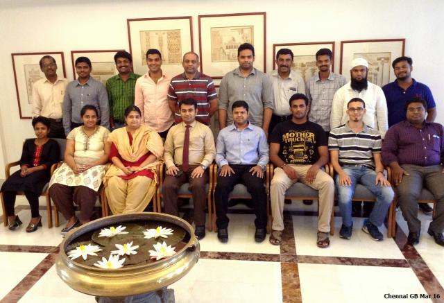 Chennai GB Mar 16