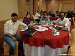 Hyderabad GB Oct 16 - Team Contest First Runners Up
