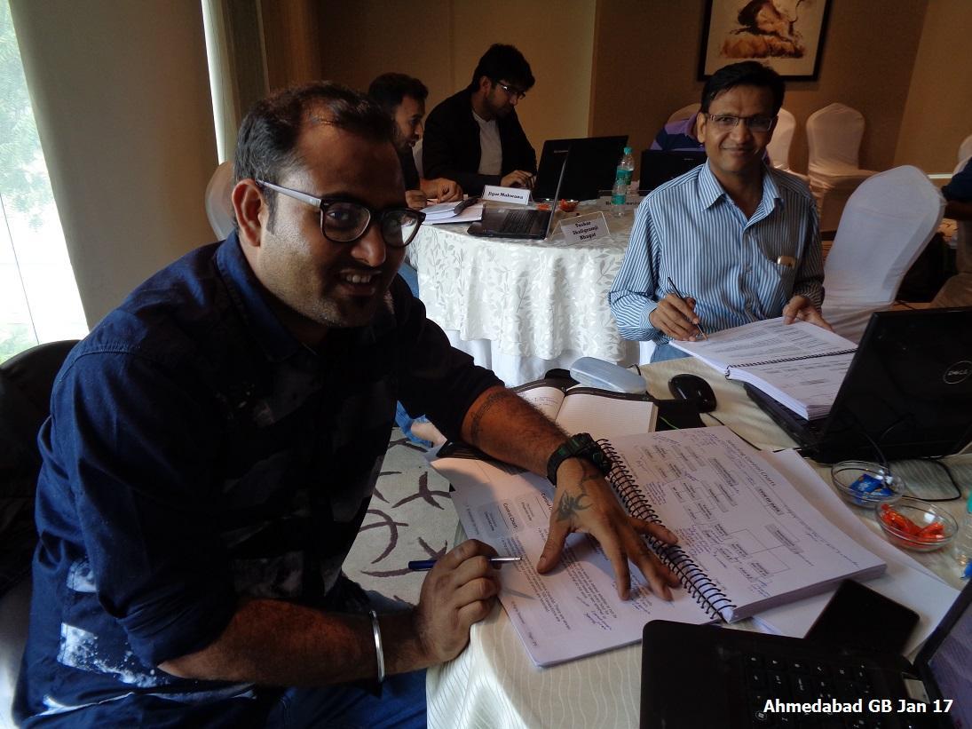 Ahmedabad GB Jan 17 - Team 4
