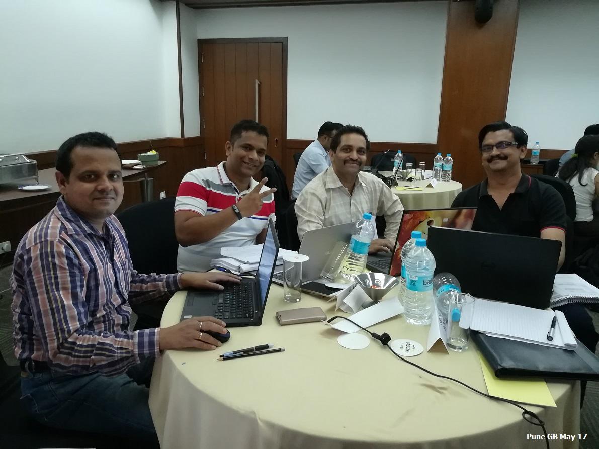 Pune GB May 17 - Team Contest Winners