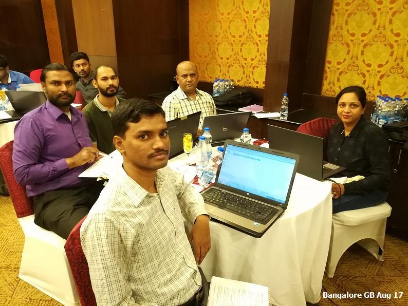Bangalore GB Aug 17 - Team 5