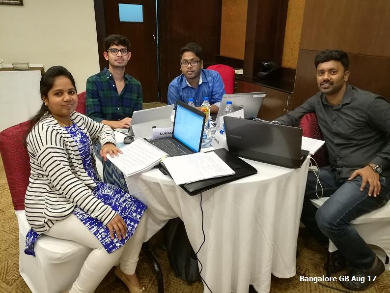 Bangalore GB Aug 17 - Team 7