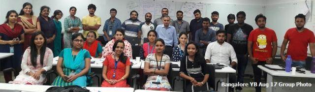 Bangalore YB Aug 17 Group Photo