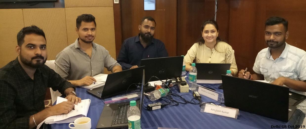 Delhi GB Oct 2019 Team 4