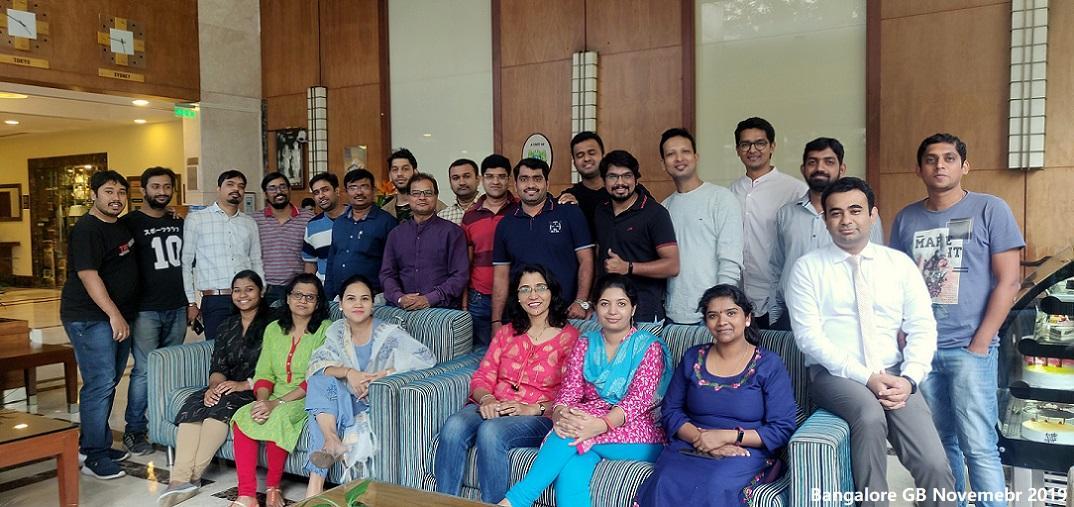 Bangalore GB Nov'19 Group Photo