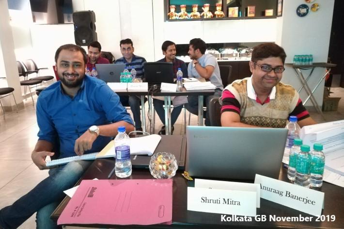 Kolkata GB Nov'19 Team (2)