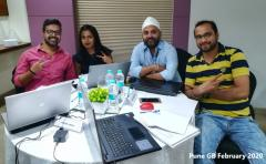 Pune GB February 2020 Team Contest Winners