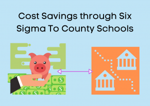 Announcement: Cost Savings through Six Sigma To County Schools