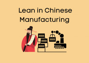 Announcement: Lean in Chinese Manufacturing