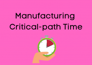 Manufacturing Critical-path Time
