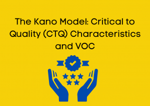 The Kano Model: Critical to Quality (CTQ) Characteristics and VOC