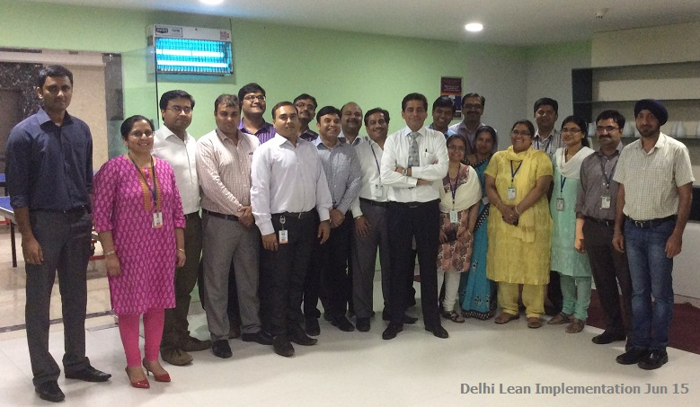 Delhi Lean Implementation Jun 15