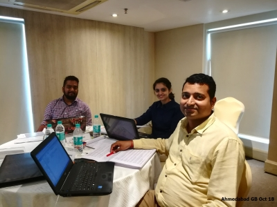 Ahmedabad GB Oct 2018- Team 4