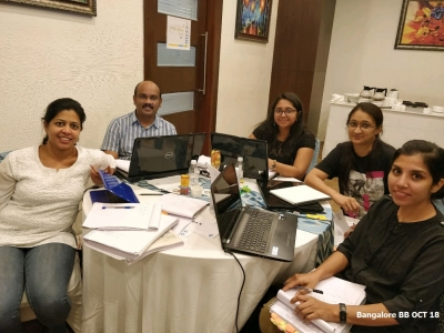 Bangalore BB Oct 2018- Team 2