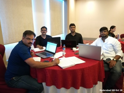 Hyderabad GB Oct 2018- Team 2