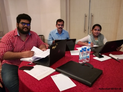 Hyderabad GB Oct 2018- Team 3