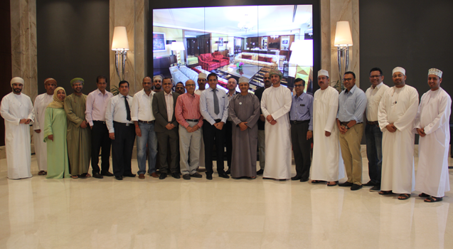 Business Excellence Champion Workshop with Top Management & Promoters of BankDhofar.