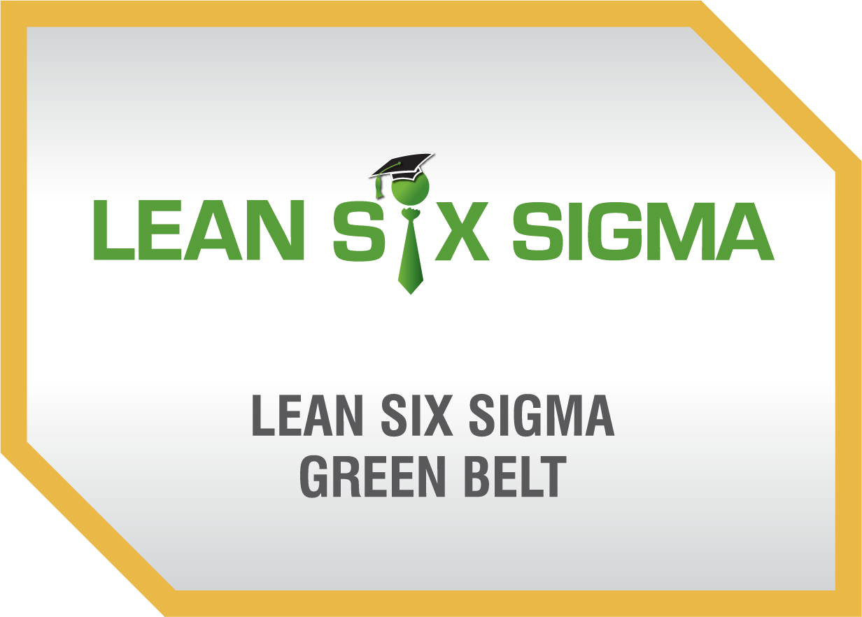 Lean Six Sigma Green Belt Certification Benchmark Six Sigma